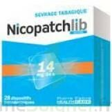 Nicopatchlib 14 Mg/24 H Dispositifs Transdermiques B/28 à Gradignan