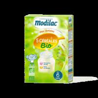 Modilac Céréales Farine 5 Céréales bio à partir de 6 mois B/230g à Gradignan