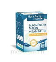 Nat&Form Expert Magnésium+Vitamine B6 Gélules B/40 à Gradignan