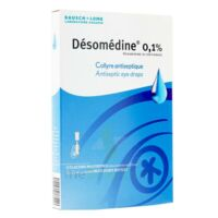 Desomedine 0,1 % Collyre Sol 10fl/0,6ml à Gradignan