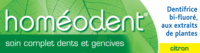 Boiron Homéodent Soin Complet Dents Et Gencives Pâte Dentifrice Citron T/75ml à Gradignan