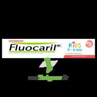 Fluocaril Kids Dentifrice Fraise 0-6 Ans T/50ml à Gradignan