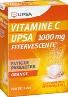 Vitamine C Upsa Effervescente 1000 Mg, Comprimé Effervescent à Gradignan